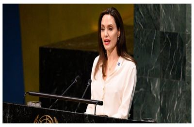Angelina Jolie says women must be included in Afghan talks