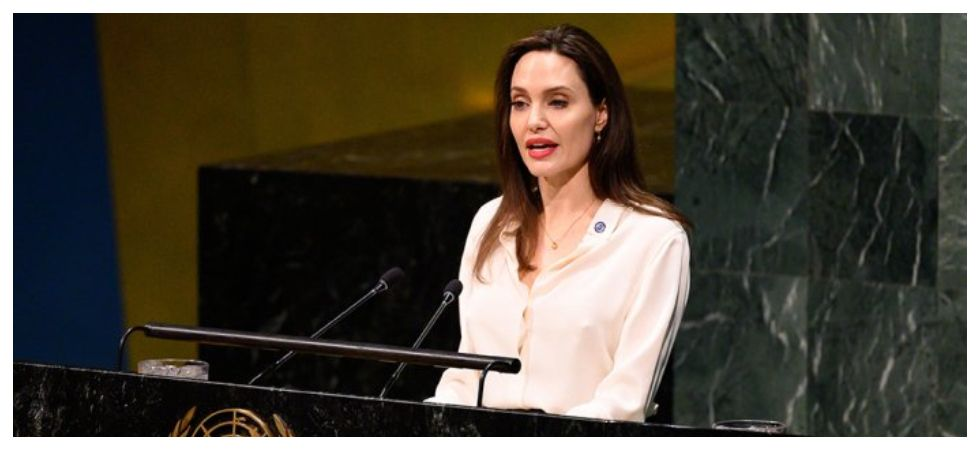 Angelina Jolie says women must be included in Afghan talks (Photo: Twitter)