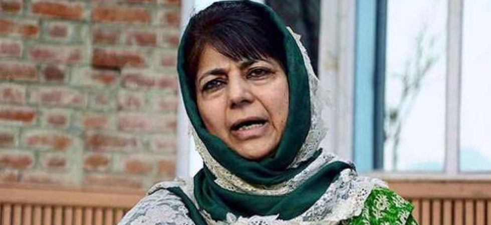 Bharatiya Janata Party (BJP) on Wednesday accused PDP chief Mehbooba Mufti of instigating people