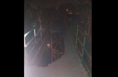 Foot over bridge collapses in Navi Mumbai, two injured