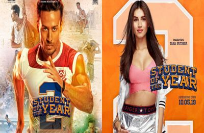 Student of the Year 2 new posters: Tiger Shroff races to victory, Tara Sutaria brings in the magic