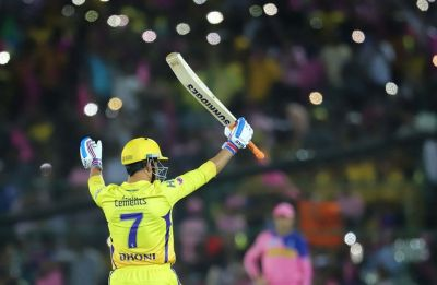 MS Dhoni creates history in IPL with a 'special century' in clash against Rajasthan Royals
