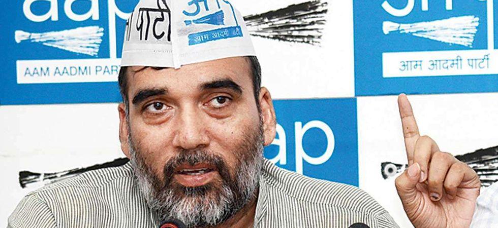 AAP leader Gopal Rai (File Photo)
