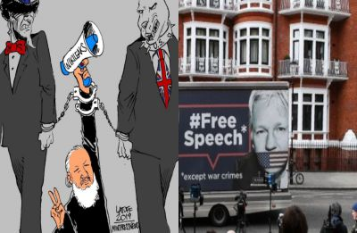 WikiLeaks founder Julian Assange found guilty of breach of bail in UK after arrest, faces extradition to US