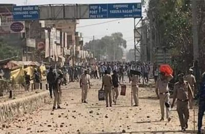 Clashes erupt in Karnal after bus mows down 20-year-old ITI student