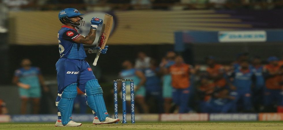 Shikhar Dhawan's brilliant 97* helped Delhi Capitals surge to fourth in the points table with a brilliant win against Kolkata Knight Riders. (Image credit: Twitter)