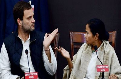 Mamata says no to Rahul's chopper landing in Siliguri, Congress accuses Trinamool of using 'cheap methods'