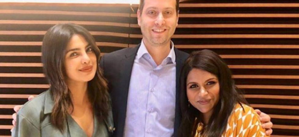 Priyanka Chopra and Mindy Kaling team up for a wedding comedy./ Image: Instagram