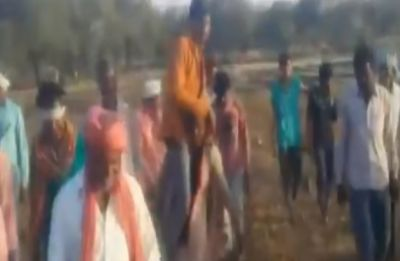 Villagers shame woman over affair, force her to carry lover on shoulders as punishment
