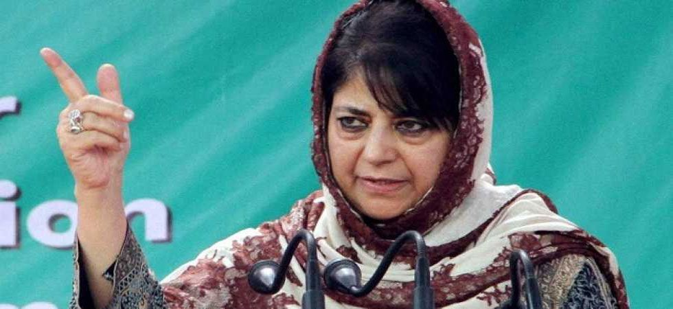 Mehbooba Mufti was reacting to PM Modi's speech which he made in Jammu and Kashmir's Kathua