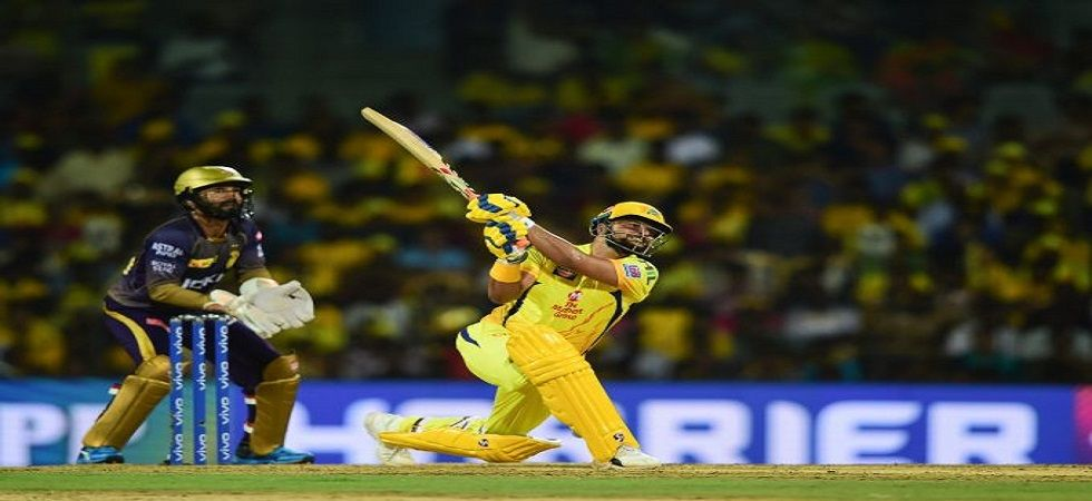 Suresh Raina blasted his 36th fifty and Chennai Super Kings won by five wickets against Kolkata Knight Riders at the Eden Gardens. (Image credit: Twitter)