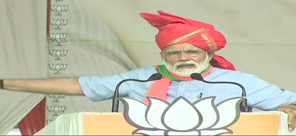 Prime Minister Narendra Modi on Sunday held a rally in Jammu and Kashmir's Kathua district