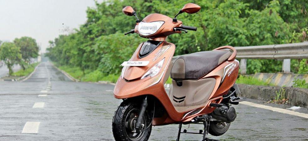 TVS, Suzuki, Piaggio gain scooter market share in FY19 (Representational Image)