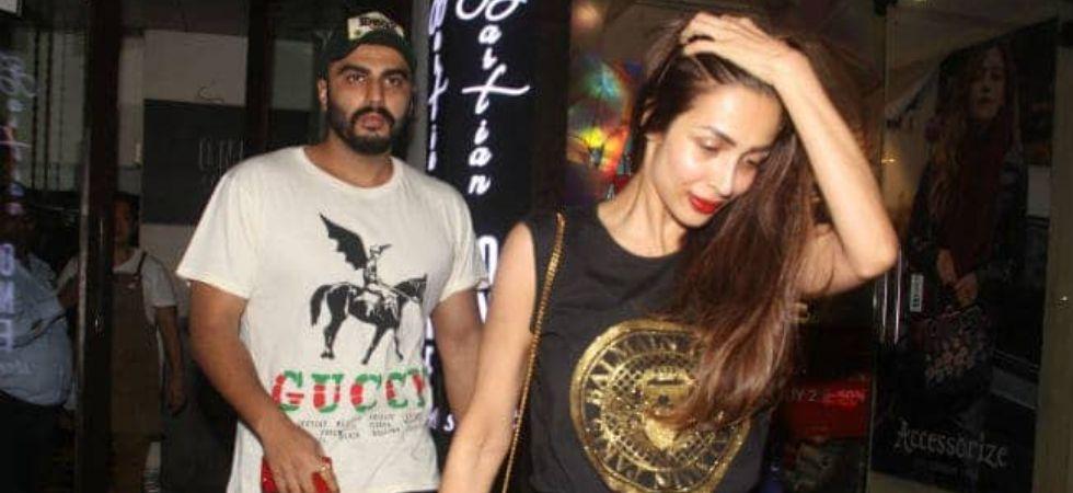 Arjun Kapoor and Malaika Arora./ Image: Twitter