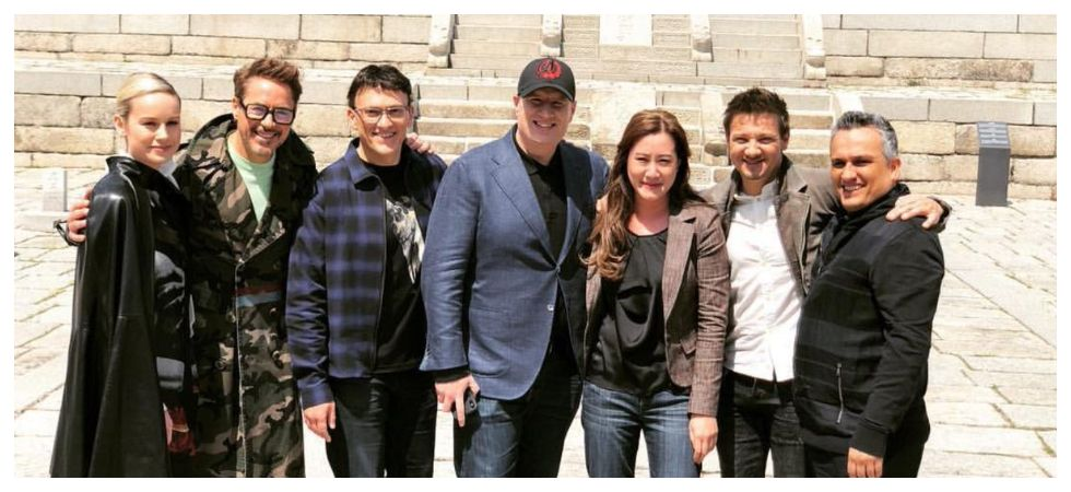 Kevin Feige tells fans how to prepare themselves for 'Endgame' (Photo: Twitter)