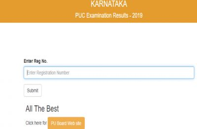 Karnataka 2nd PUC Results 2019 declared by KSEEB, girls outshine boys