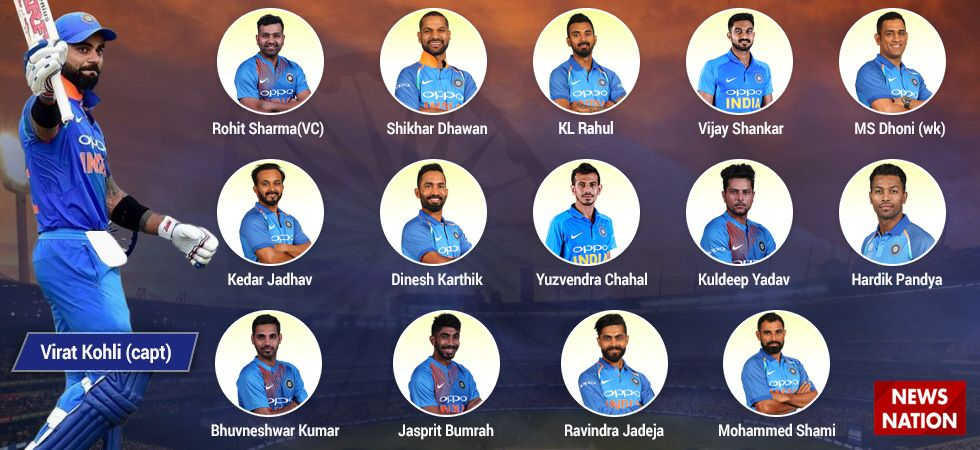 BCCI announces team for ICC Cricket World Cup (Image Credit: Twitter)