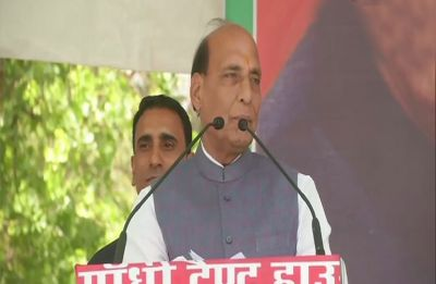 Samajwadi Party's decision to align with BSP is 'big mistake', says Rajnath Singh