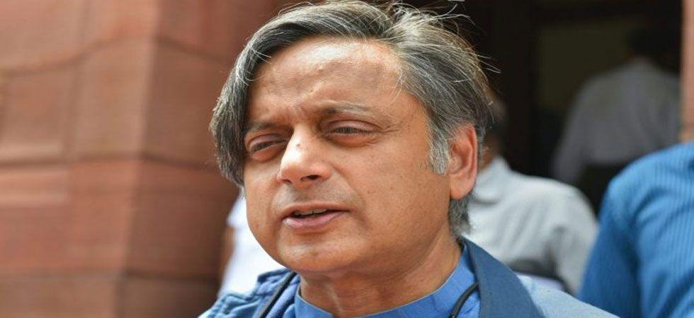 Shashi Tharoor also suffered a minor leg injury. (File Photo: PTI)