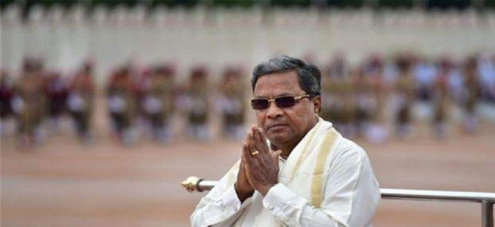 Congress Legislature Party (CLP) leader Siddaramaiah (File Photo)