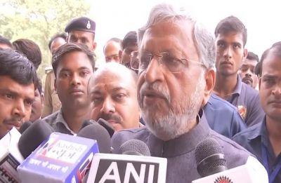 Sushil Modi threatens to file defamation case against Rahul Gandhi over Modi 'surname' dig