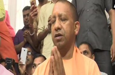 After Election Commission's 72-hour gag order, Yogi Adityanath visits Hanuman temple in Lucknow