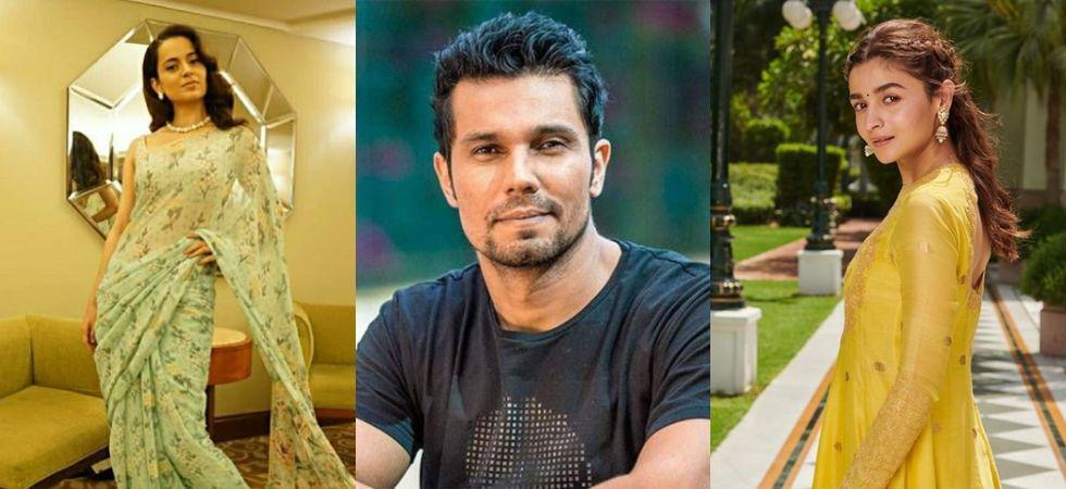 Kangana Ranaut, Randeep Hooda and Alia Bhatt./ Image: Instagram