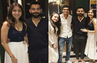 Virat Kohli-Anushka Sharma hosted a dinner for RCB players, Here are pictures