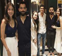 Virat Kohli-Anushka Sharma hosted a dinner for RCB players, Here are pictures