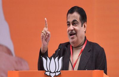 Under Congress, poverty of its leaders was eradicated: Nitin Gadkari