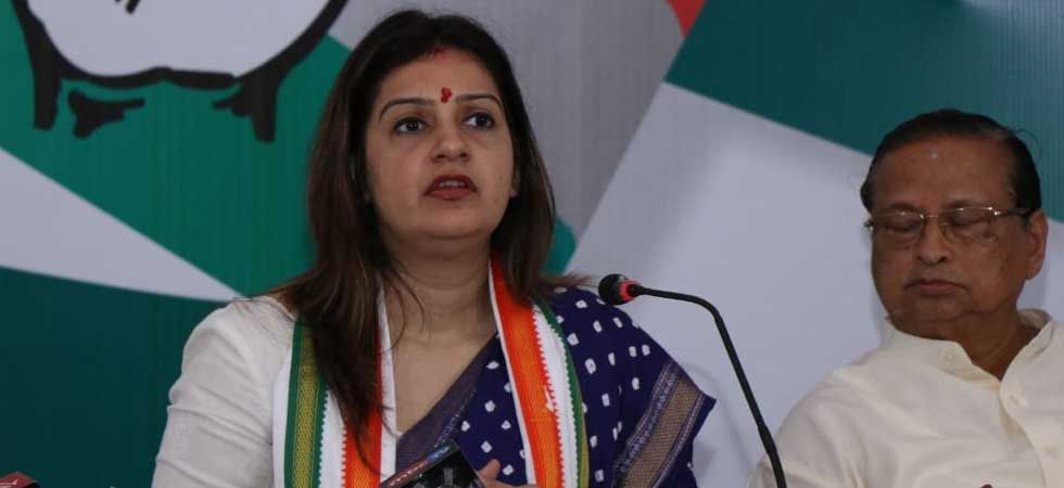 Congress national spokesperson Priyanka Chaturvedi (Photo: Twitter/@priyankac19)