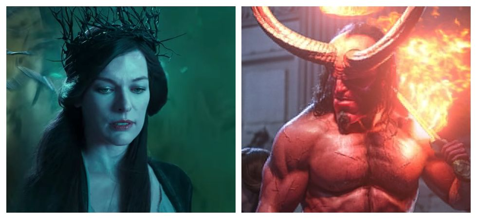 Milla Jovovich responds to negative reviews of 'Hellboy' (Photo: Twitter)