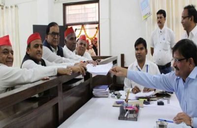 Samajwadi Party chief Akhilesh Yadav files nomination from Azamgarh Lok Sabha seat