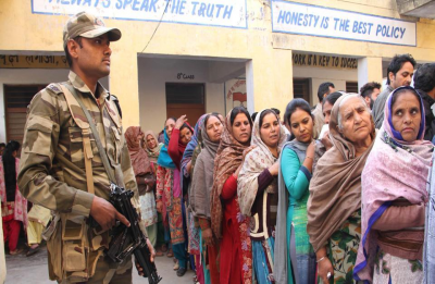 45.64 per cent turnout recorded in Jammu and Kashmir as Phase 2 of LS polls passes of peacefully
