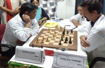 Two players play 53 hours of non-stop chess to spread Lok Sabha 2019 polls awareness