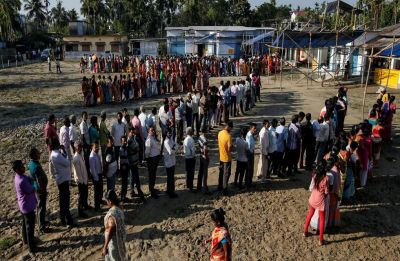 Phase 2 of Lok Sabha polls ends peacefully in Tamil Nadu, 70.90% turnout recorded