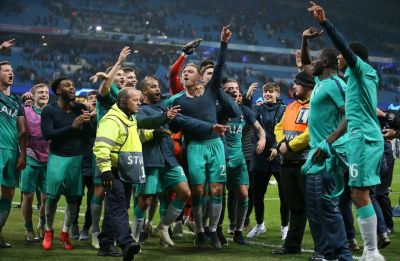 Manchester City's quadruple quest ends with dramatic UEFA Champions League loss to Tottenham