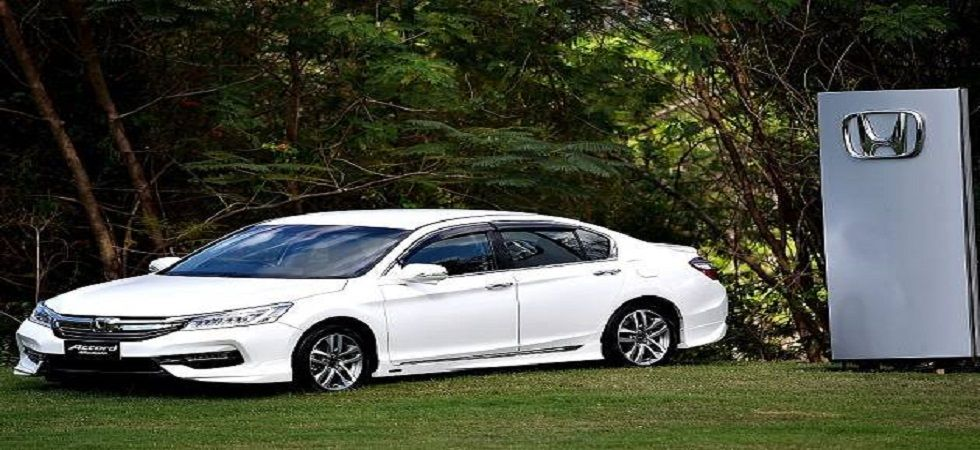 Honda recalls 3,669 units of Accord to fix faulty airbags (file photo)