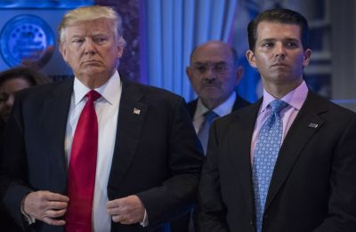Man who sent threatening letter to Donald Trump's sons to be sentenced