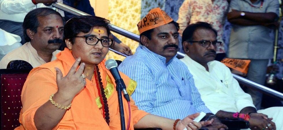 BJP leader Sadhvi Pragya Thakur Singh (File Photo)