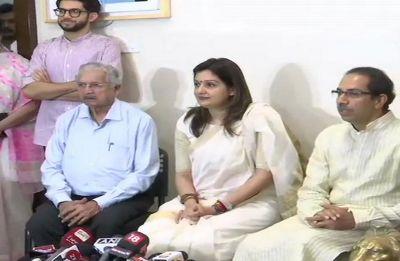 Priyanka Chaturvedi, Congress spokesperson, joins Shiv Sena