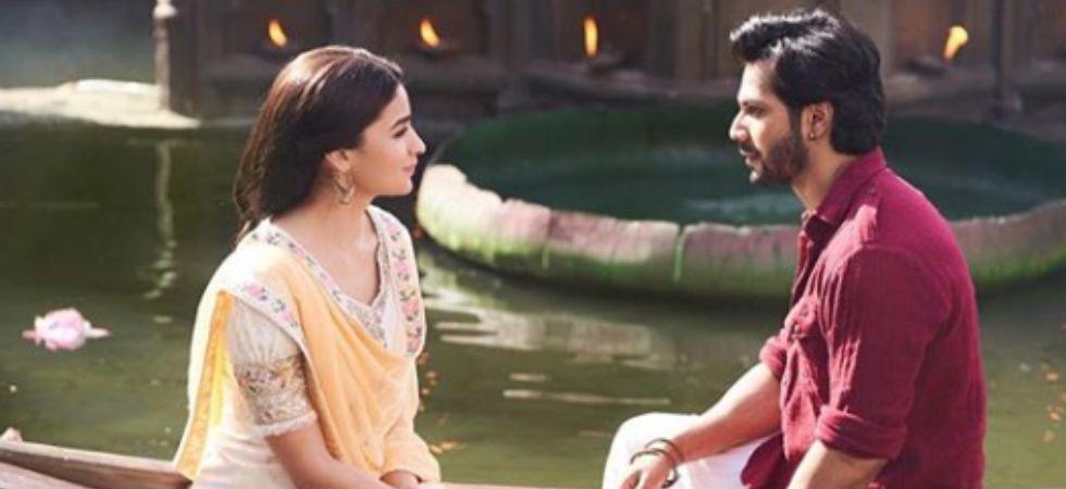 Alia Bhatt and Varun Dhawan in Kalank./ Image: Instagram