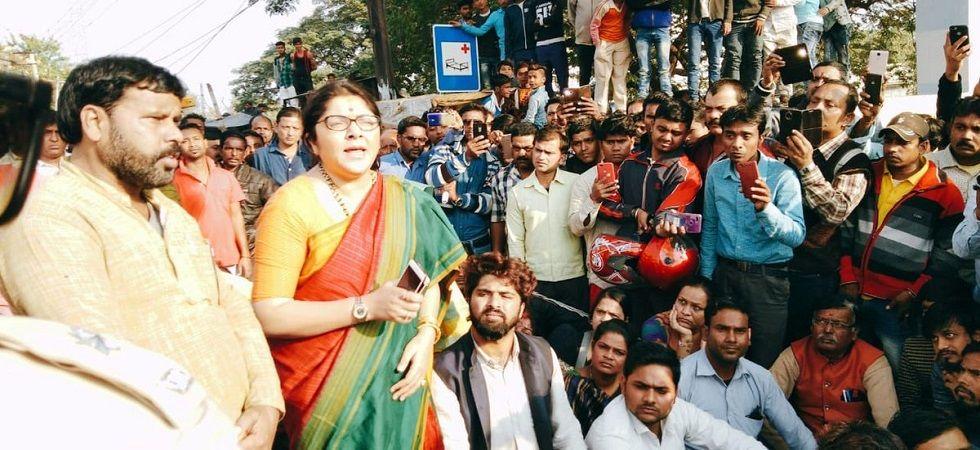 BJP Hooghly Lok Sabha candidate Locket Chatterjee (File Photo)