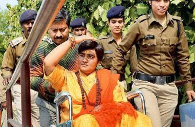 Pragya Singh 'takes back' comments on 26/11 martyr Hemant Karkare after facing opposition backlash