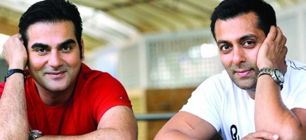 Arbaaz Khan and Salman Khan./ Image: Twitter