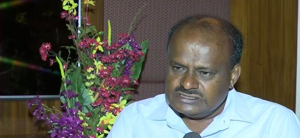 Karnataka Chief Minister HD Kumaraswamy (ANI Photo)