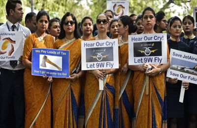 Jet Airways employees write to President, seek intervention for salary dues, emergency funds