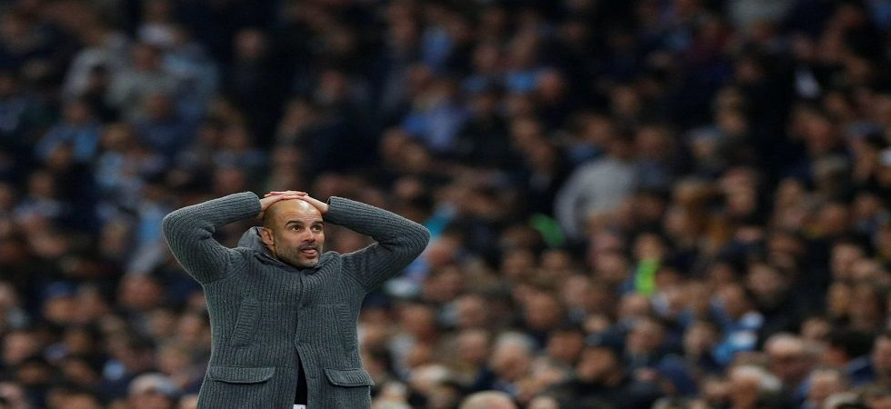 Pep Guardiola has set his sights for securing the quadruple next season for Manchester City. (Image credit: Twitter)