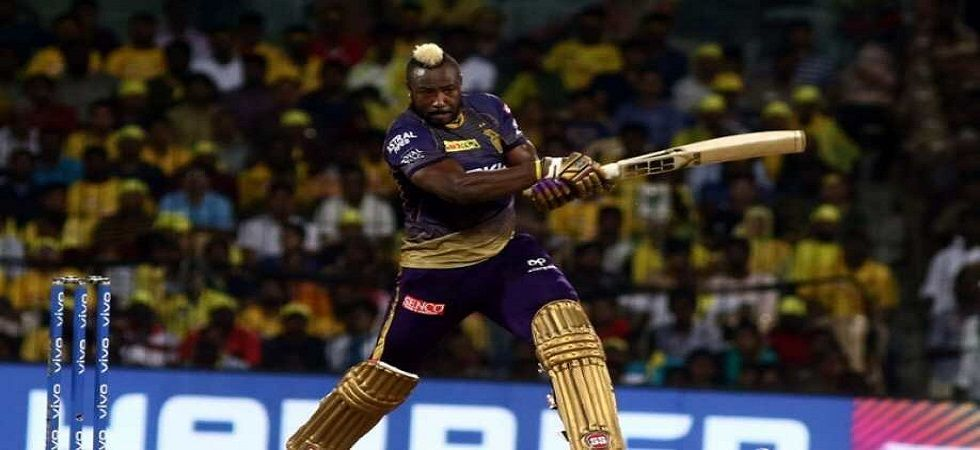 Andre Russell blasted 65 off 25 balls but Kolkata Knight Riders fell short by 10 runs against Royal Challengers Bangalore. (Image credit: Twitter)