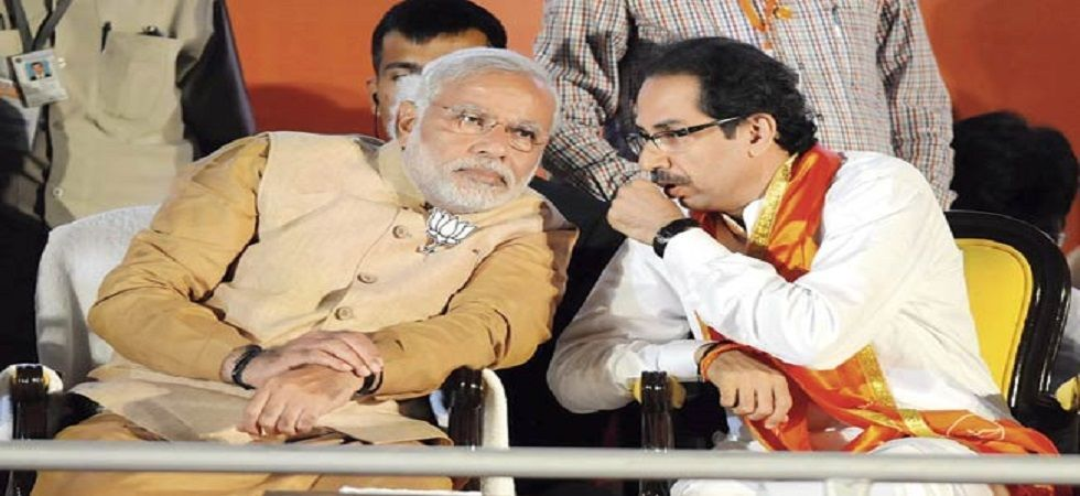 Shiv Sena formed an alliance with the saffron party again ahead of the 2019 Lok Sabha Elections